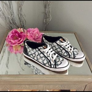 Coach Shoes Flats Barrette sneakers walking 7.5